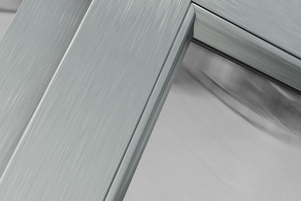 delinox finiture alluminio spazzolato